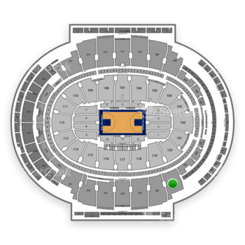 New York Knicks at Madison Square Garden Section 227 View