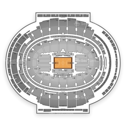 Madison Square Garden Seating Chart NCAA Basketball