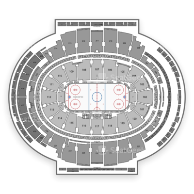 Madison Square Garden seating chart New York Rangers