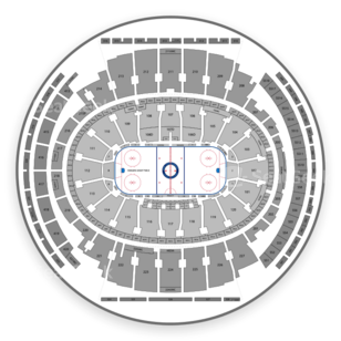 Madison Square Garden Seating Chart NCAA Hockey