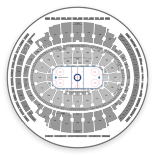 Madison Square Garden Seating Chart Hockey
