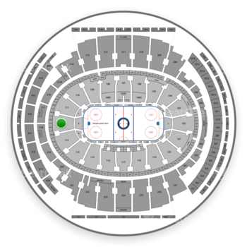 New York Rangers At Madison Square Garden Section 112 View All Seating Charts