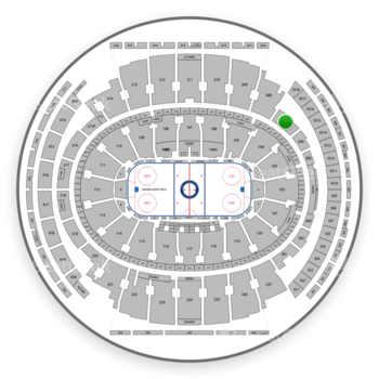 Madison square garden section 207 seat views seatgeek - Bruno mars tickets madison square garden ...