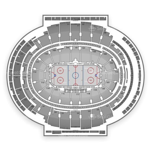 Example NHL Seating Chart