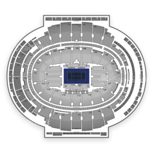 Madison Square Garden Seating Chart Tennis