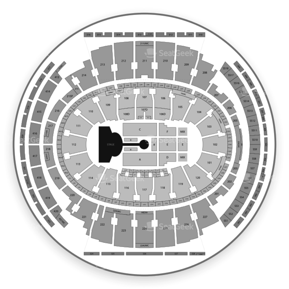 Madison Square Garden Seating Chart Broadway Tickets National