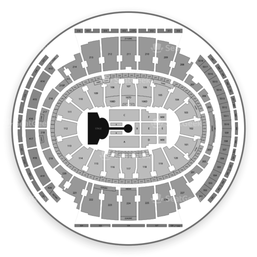 Madison Square Garden Seating Chart Broadway Tickets National Map