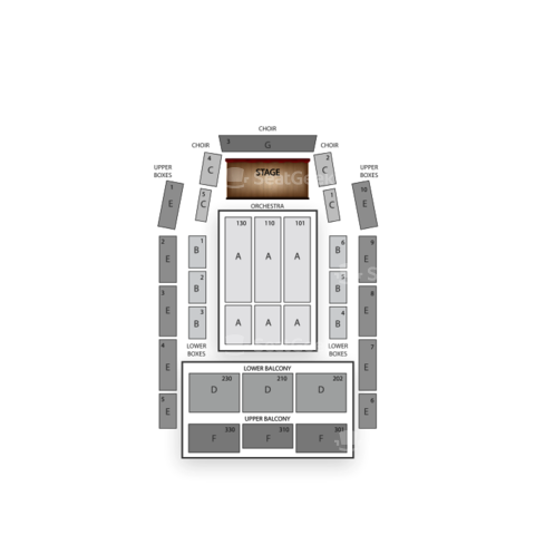 Meymandi Concert Hall seating chart North Carolina Symphony