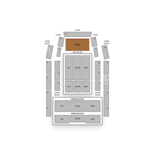 Meymandi Concert Hall Seating Chart Classical