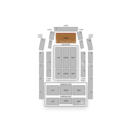 Meymandi Concert Hall Seating Chart Concert