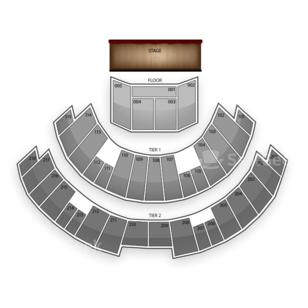 James L Knight Center Seating Chart Theater