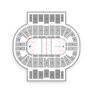 Pensacola Ice Flyers Seating Chart