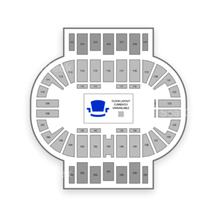 Pensacola Bay Center Seating Chart Family