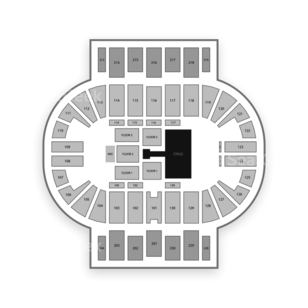 Pensacola Bay Center Seating Chart Concert
