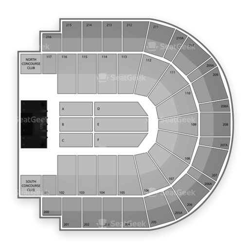 i wireless Center Seating Chart