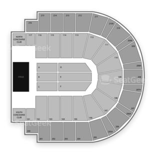 i wireless Center Seating Chart Classical