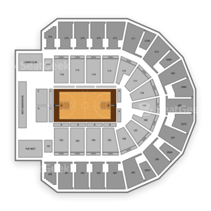 iWireless Center Seating Chart Family