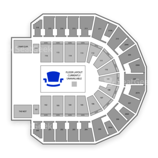 TaxSlayer Center Seating Chart Theater