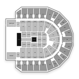 iWireless Center Seating Chart Wrestling