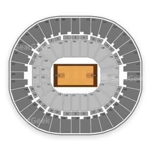Thomas & Mack Center Seating Chart NBA