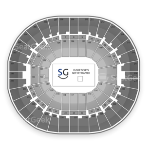 Thomas & Mack Center Seating Chart Wwe