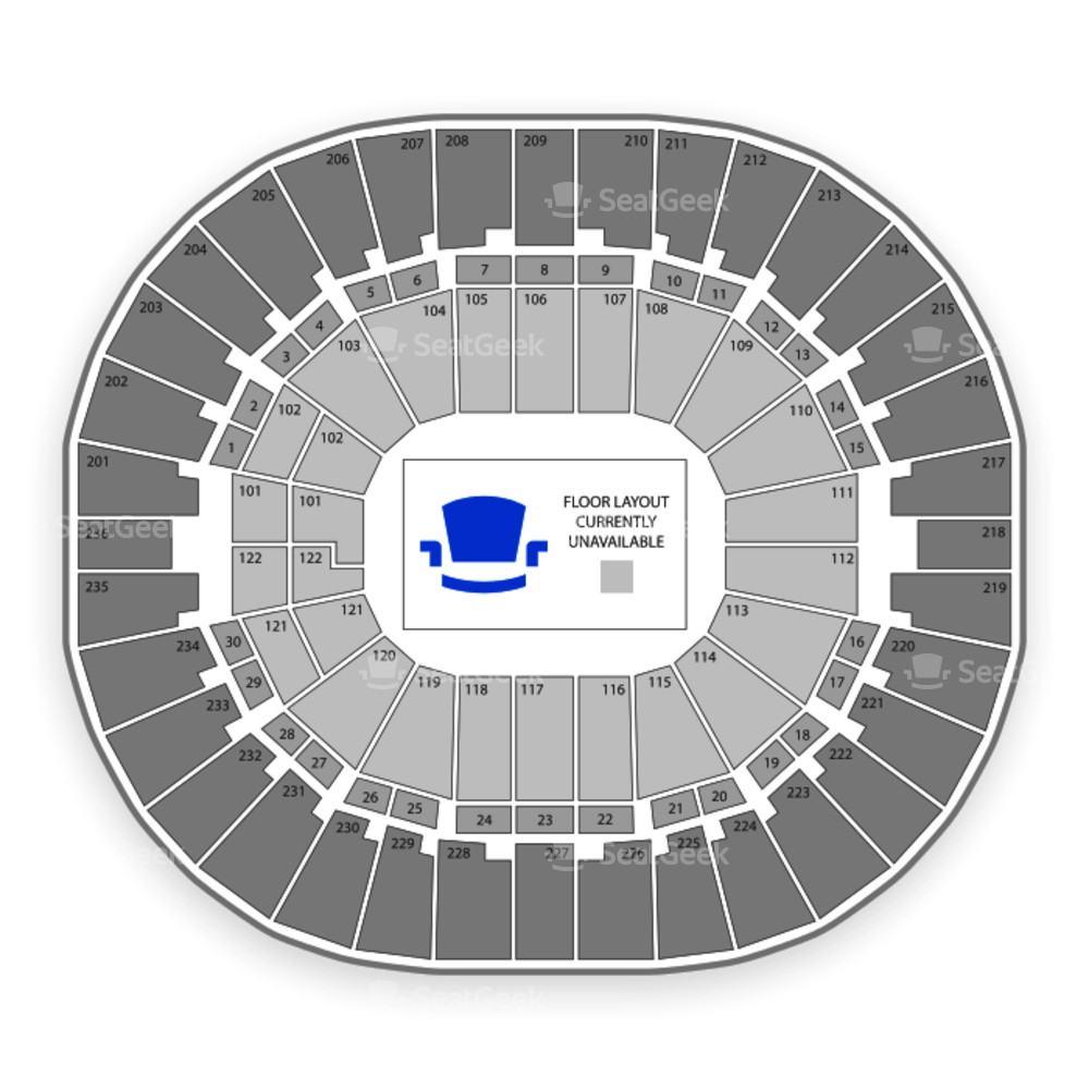 Thomas & Mack Center Seating Chart Concert