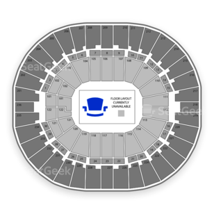 Thomas & Mack Center Seating Chart Family