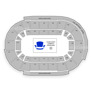Germain Arena Seating Chart Concert