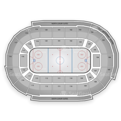 Germain Arena seating chart Disney On Ice: Let's Celebrate