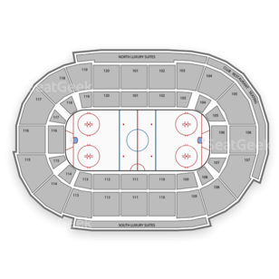 Germain Arena Seating Chart Family