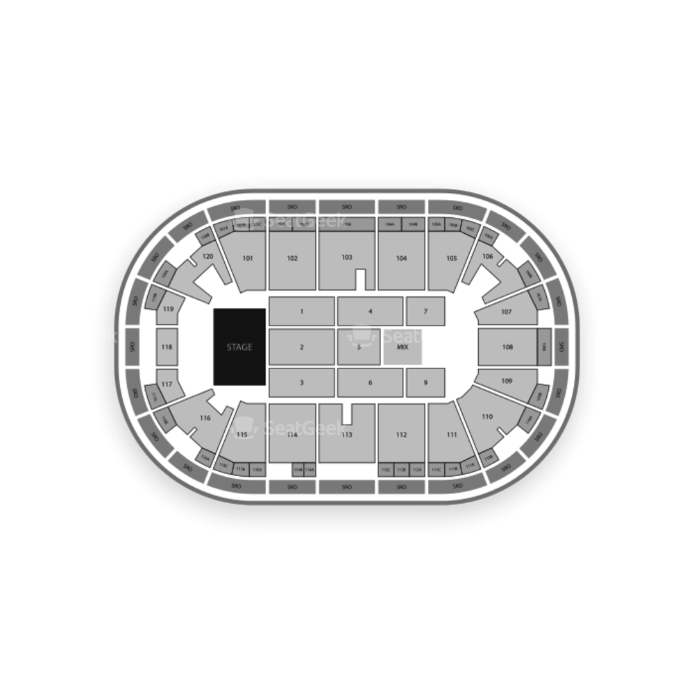 Agganis Arena Seating Chart Concert