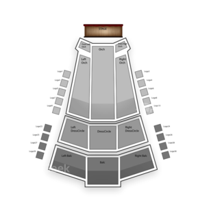 The Centre In Vancouver For Performing Arts Seating Chart Broadway Tickets National