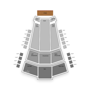 The Centre in Vancouver for Performing Arts Seating Chart Dance Performance Tour