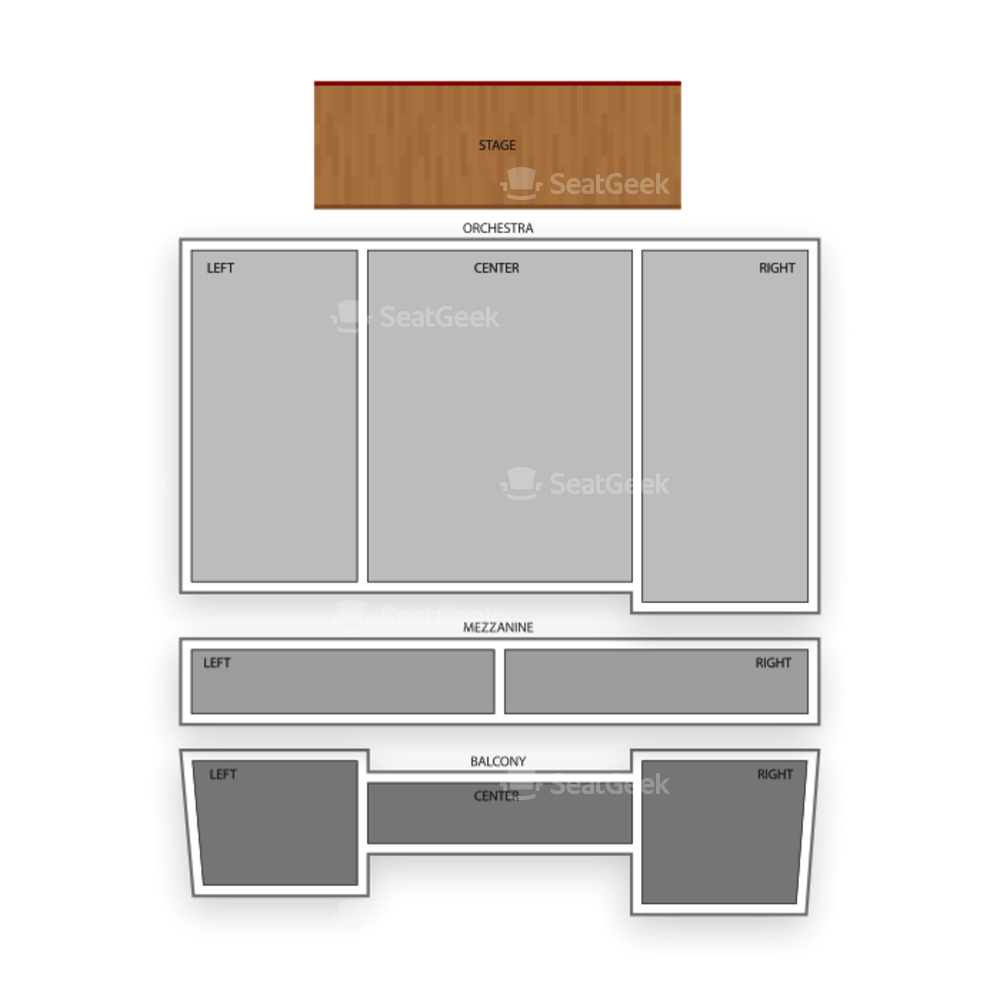 The Ridgefield Playhouse Seating Chart Family