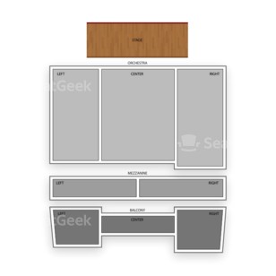 Ridgefield Playhouse Seating Chart Theater