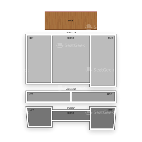 Ridgefield Playhouse Seating Chart Concert