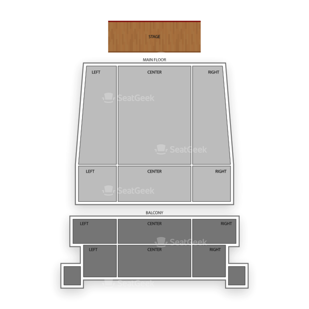 Michigan Theater Seating Chart Concert