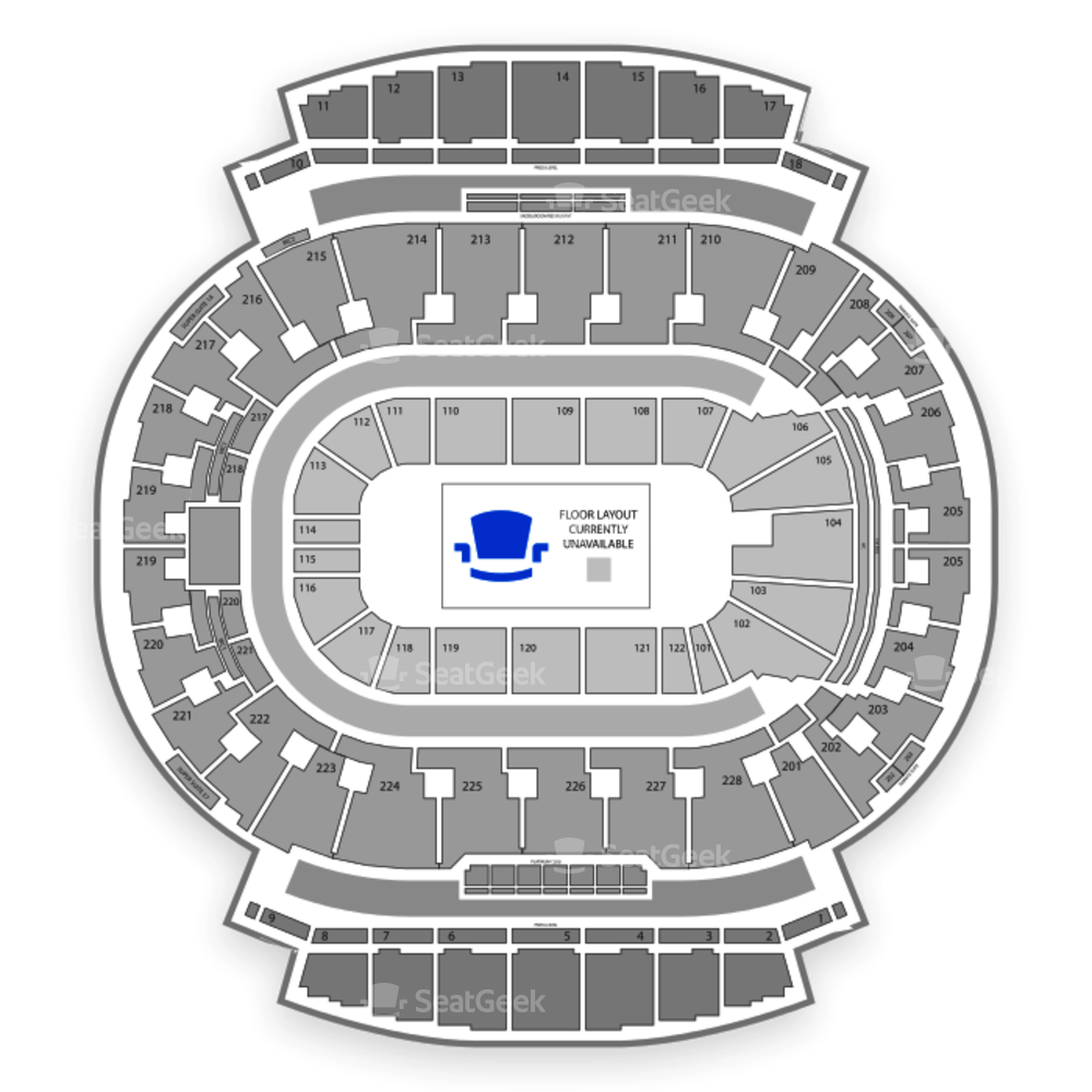 Scotiabank Saddledome Seating Chart Parking
