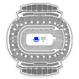 Scotiabank Saddledome Seating Chart Dance Performance Tour