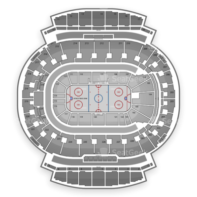 Scotiabank Saddledome seating chart Calgary Flames