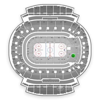 Calgary Flames at Scotiabank Saddledome Section 103 View