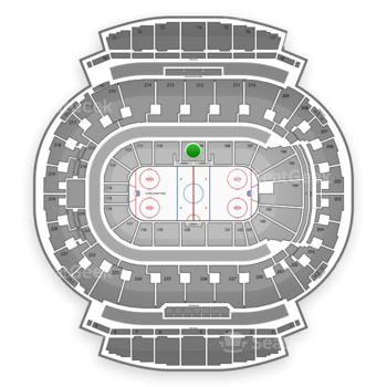 Calgary Flames at Scotiabank Saddledome Section 109 View