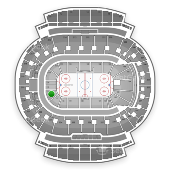 Calgary Flames at Scotiabank Saddledome Section 116 View