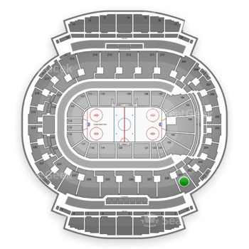 Calgary Flames at Scotiabank Saddledome Section 201 View