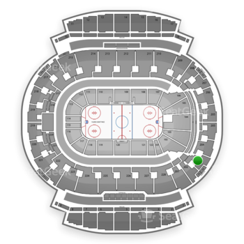 Calgary Flames at Scotiabank Saddledome Section 203 View