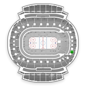 Calgary Flames at Scotiabank Saddledome Section 204 View