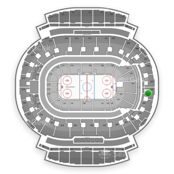 Calgary Flames at Scotiabank Saddledome Section 205 View