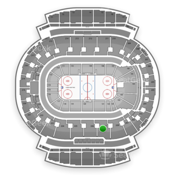 Calgary Flames at Scotiabank Saddledome Section 227 View