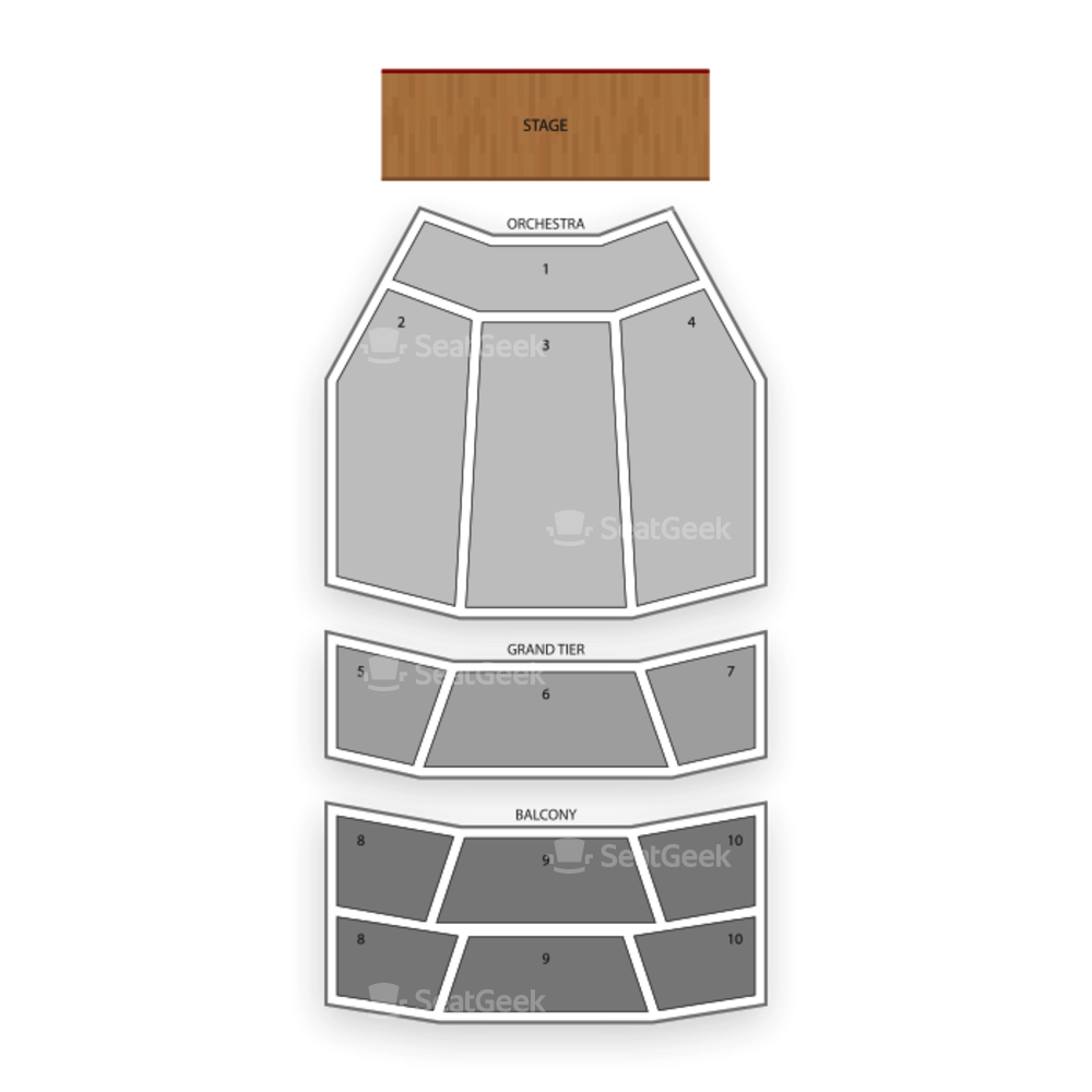 Durham Performing Arts Center Seating Chart Theater