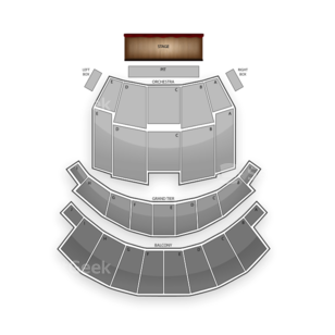 Altria Theater Seating Chart Comedy